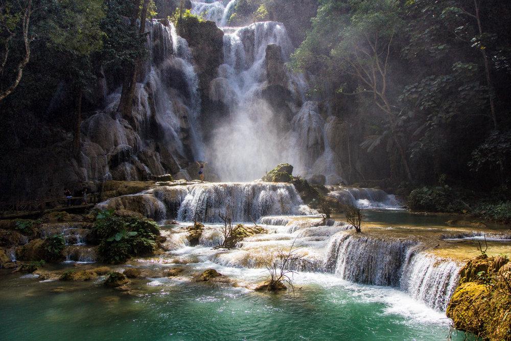 Kuang Si Waterfalls, Luang Probang, Laos