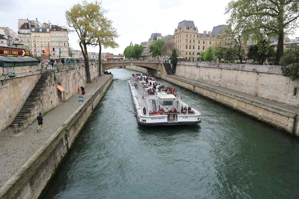 River Seine in Paris, France