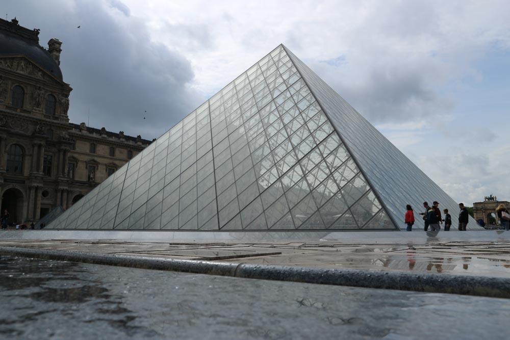 Lourve Museum in Paris, France