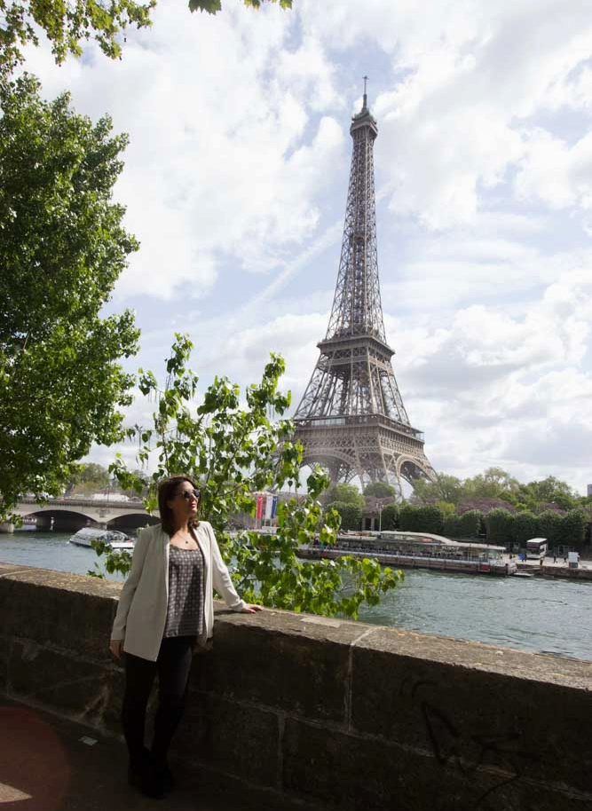 Me and the Eiffel Tower in Paris