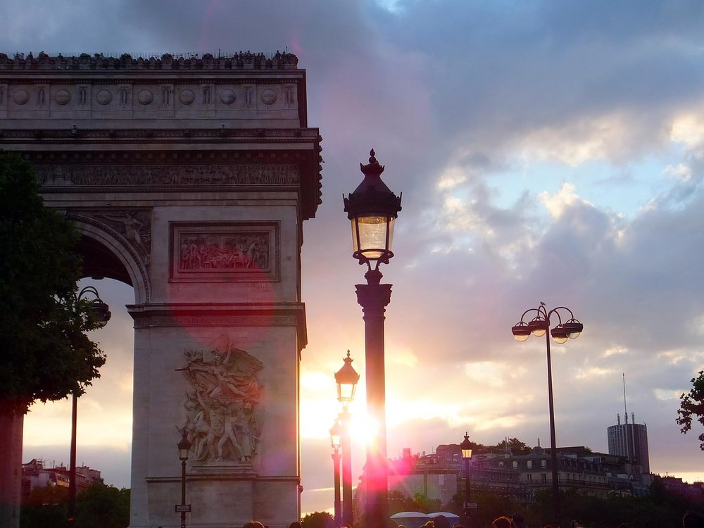 Arc de Triumphe in Paris, France
