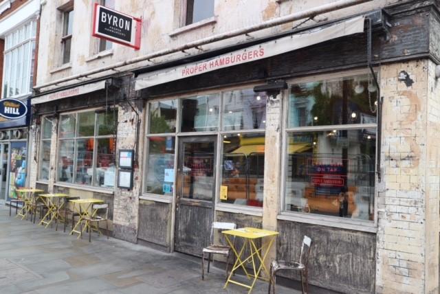 Byron Burger in Angel, London