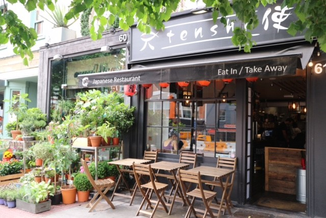 Tenshi sushi restaurant in Angel, London