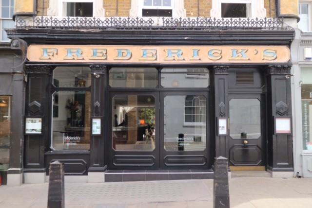 Fredericks in Angel, London