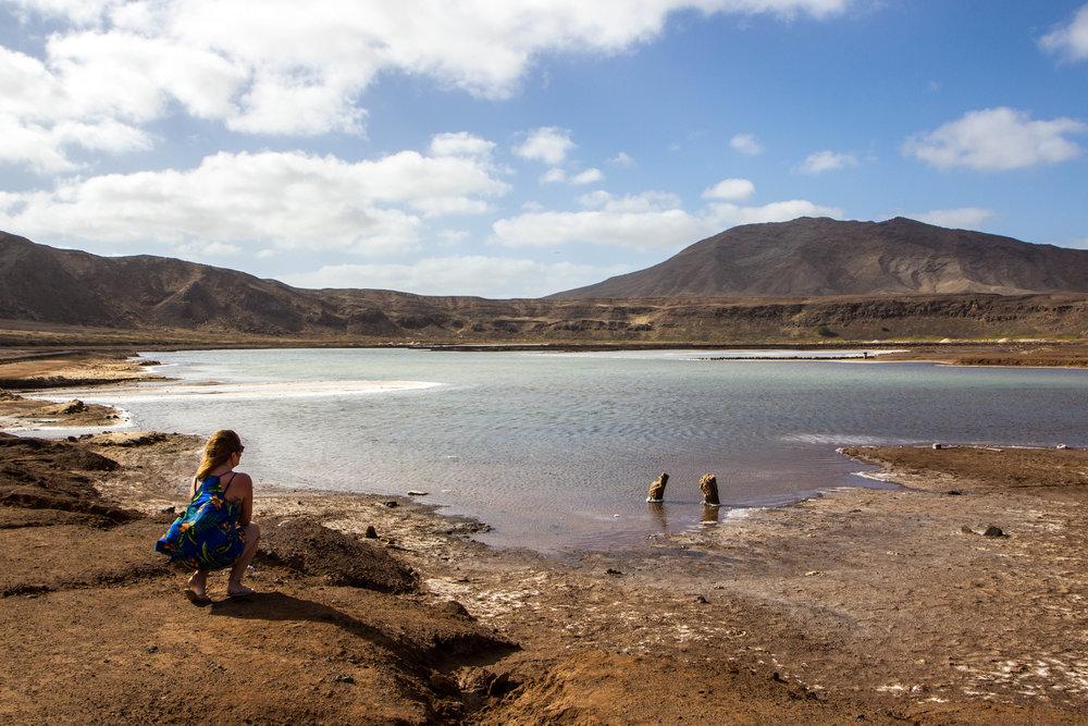 Salt Flats of Sal island, Cape Verde