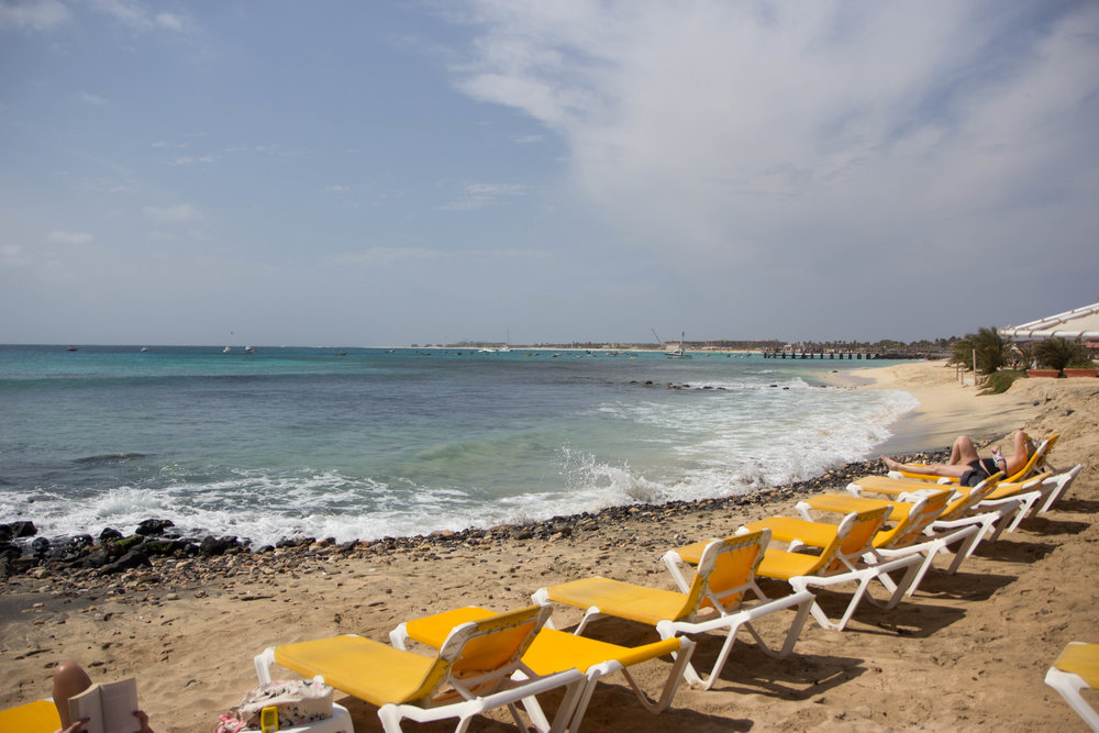 Santa Maria Beach, Cape Verde