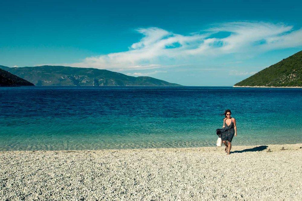 Antisamos Beach - Made famous by the Hollywood movie, Captain Corelli's Mandolin.