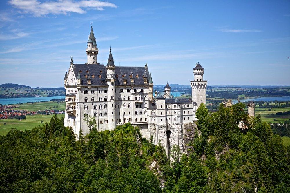 European fairytale castles