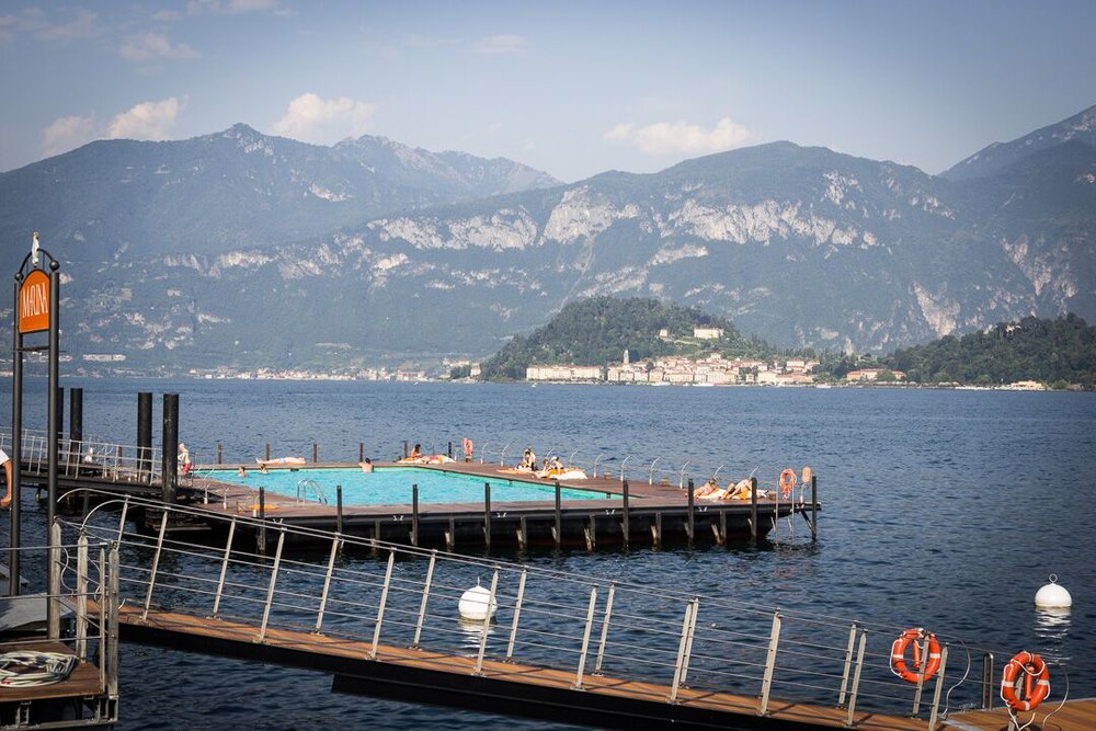 Lido at Grand Hotel Tremezzo on Lake Como