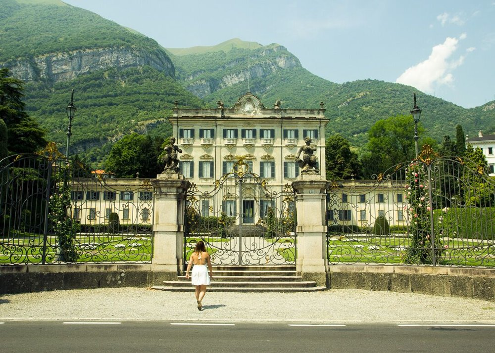villa la Quiete in Lake Como