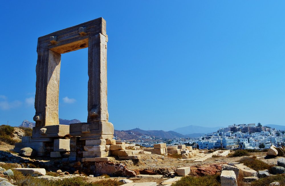 Naxos Island in Greece