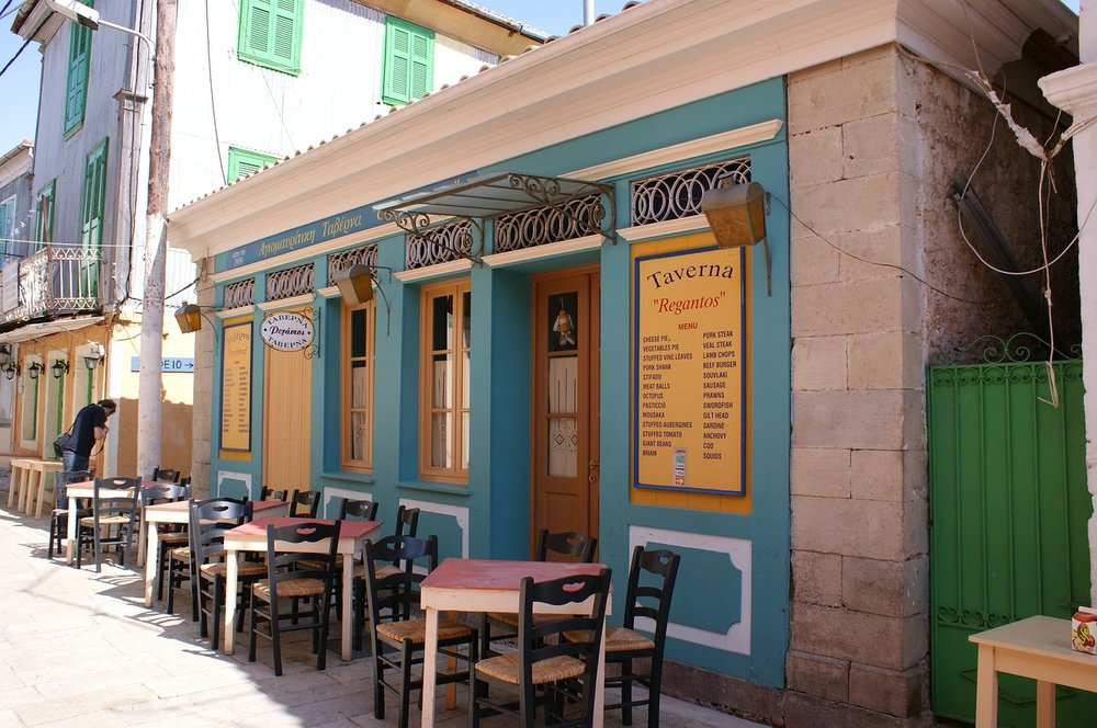 Greek Taverna in Lefkada