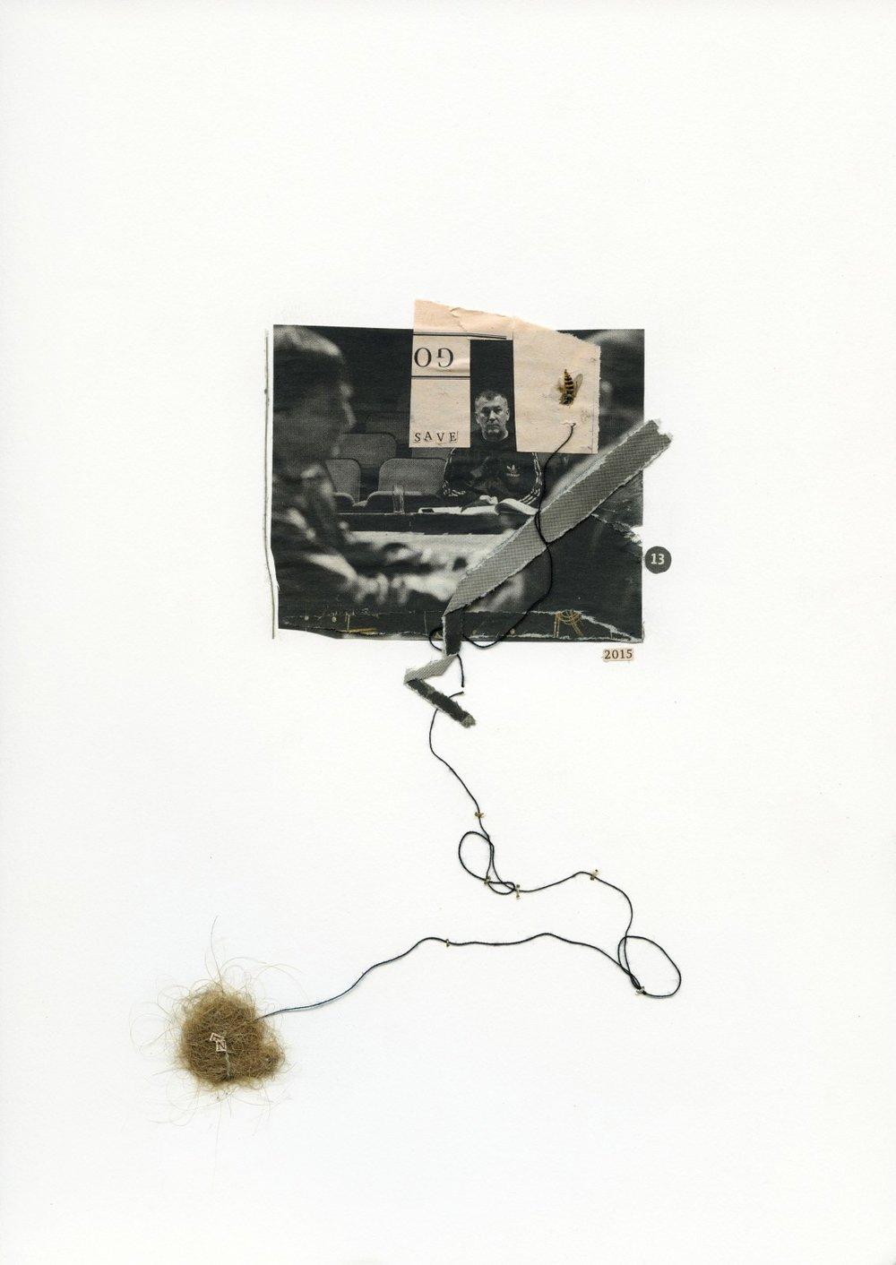 Rebecca Rose Harris - collage