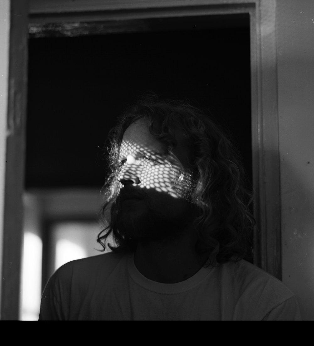Samana, Samana music, Franklin Mockett, Portrait,  analogue photography, Black and white