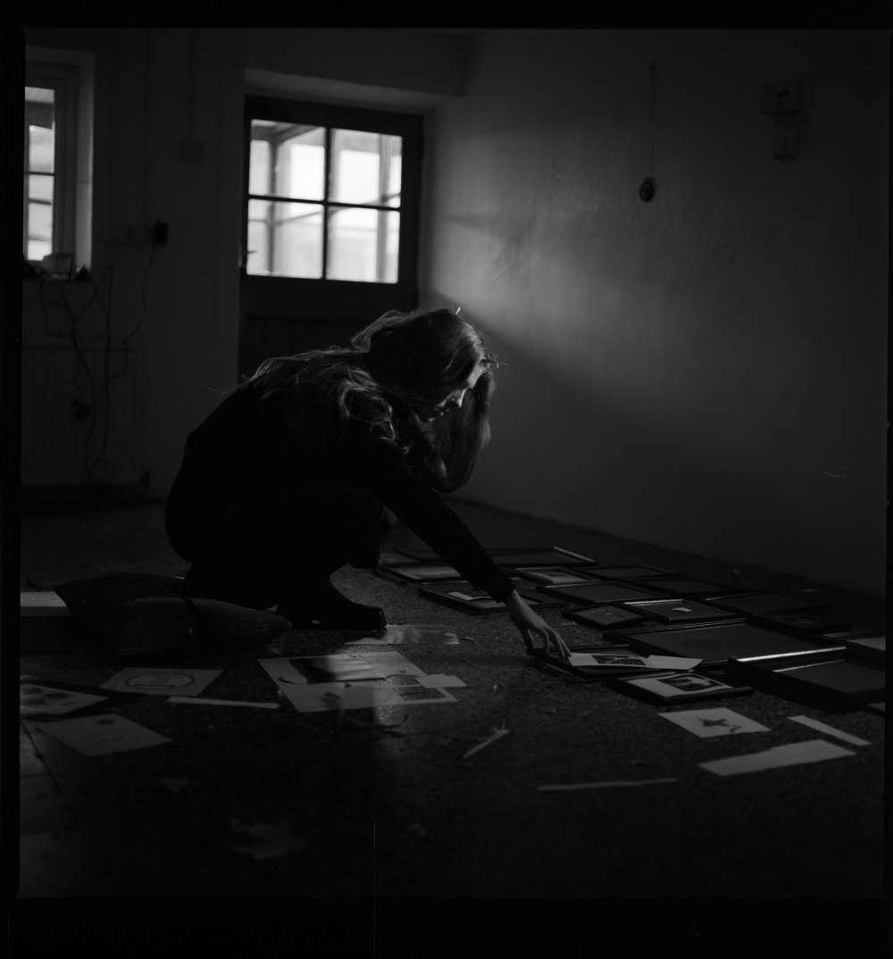Samana, Samana Music, Rebecca Rose Harris Portrait, black and white photography