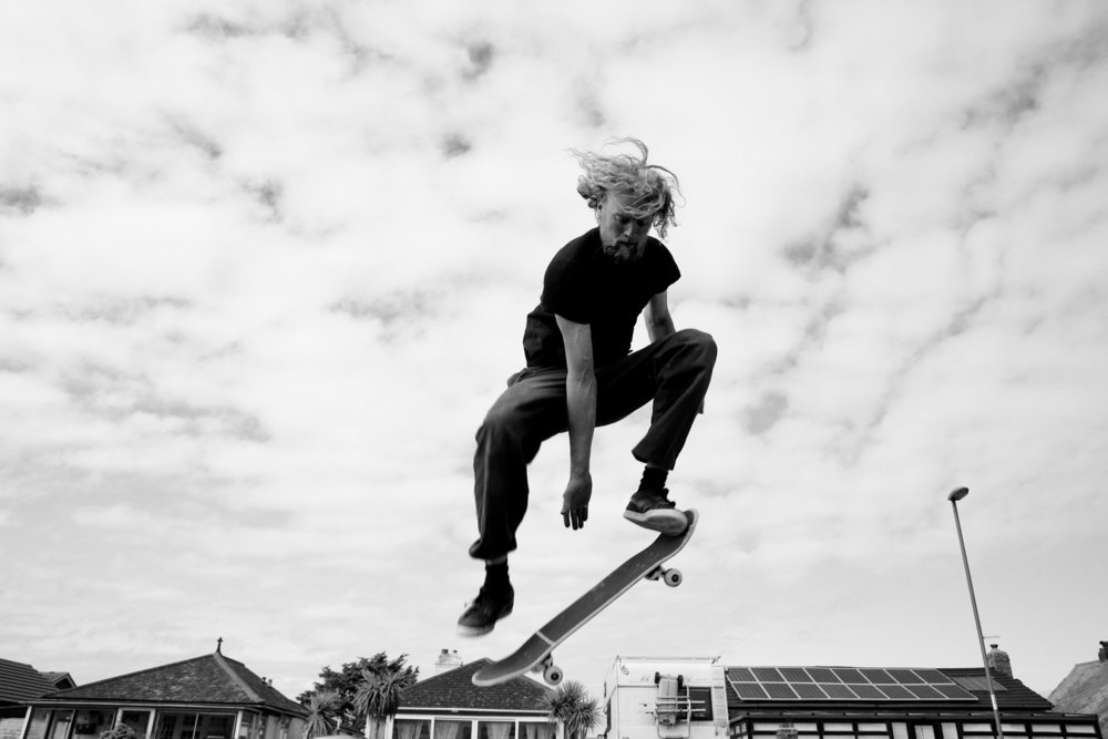 Samana - skateboarding