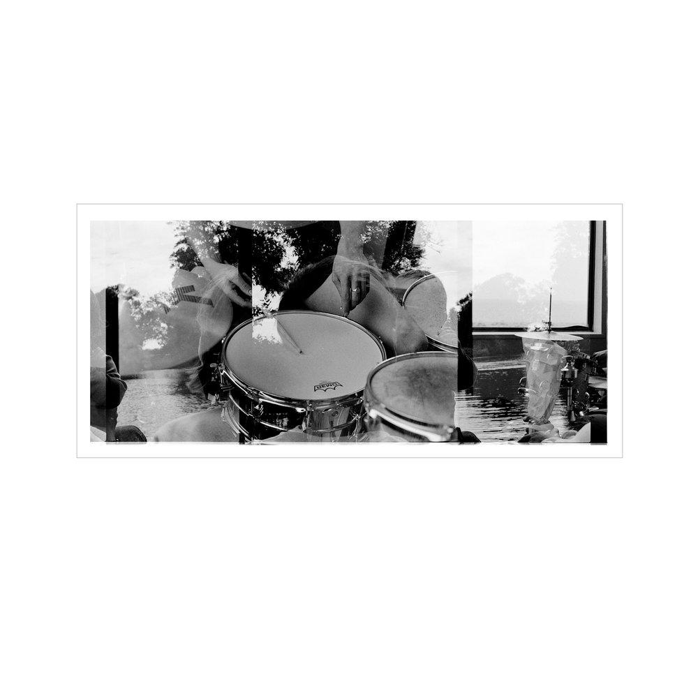 Samana, Samana music, drumming, double exposed film