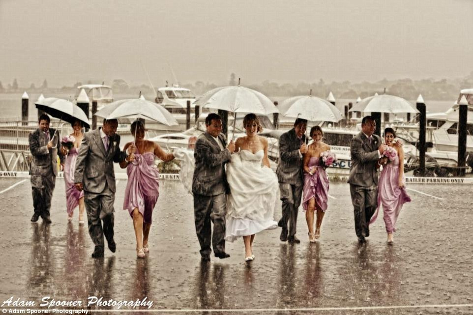 What to do if it rains on your wedding day redamancy london it was completely unusable but without a plan b in place the couple were left with no other option than to postpone the wedding on the morning they were junglespirit Choice Image