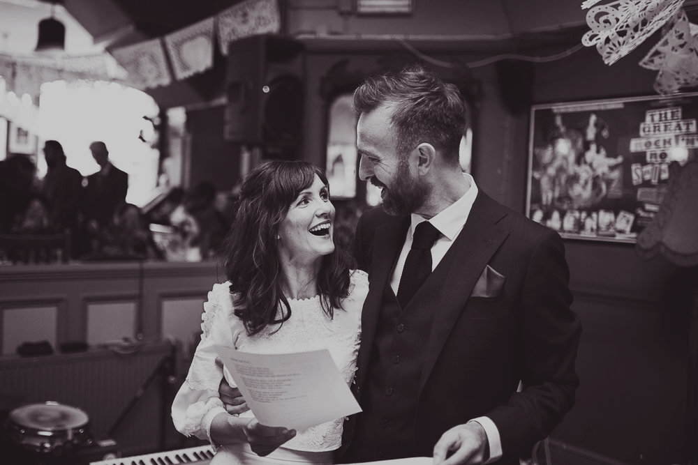 Becky & John // The Londesborough, N16