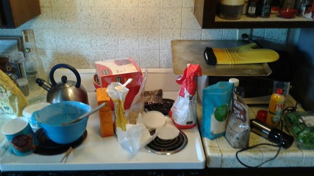 Baking and clean-up: kitchen tasks can invite prayer