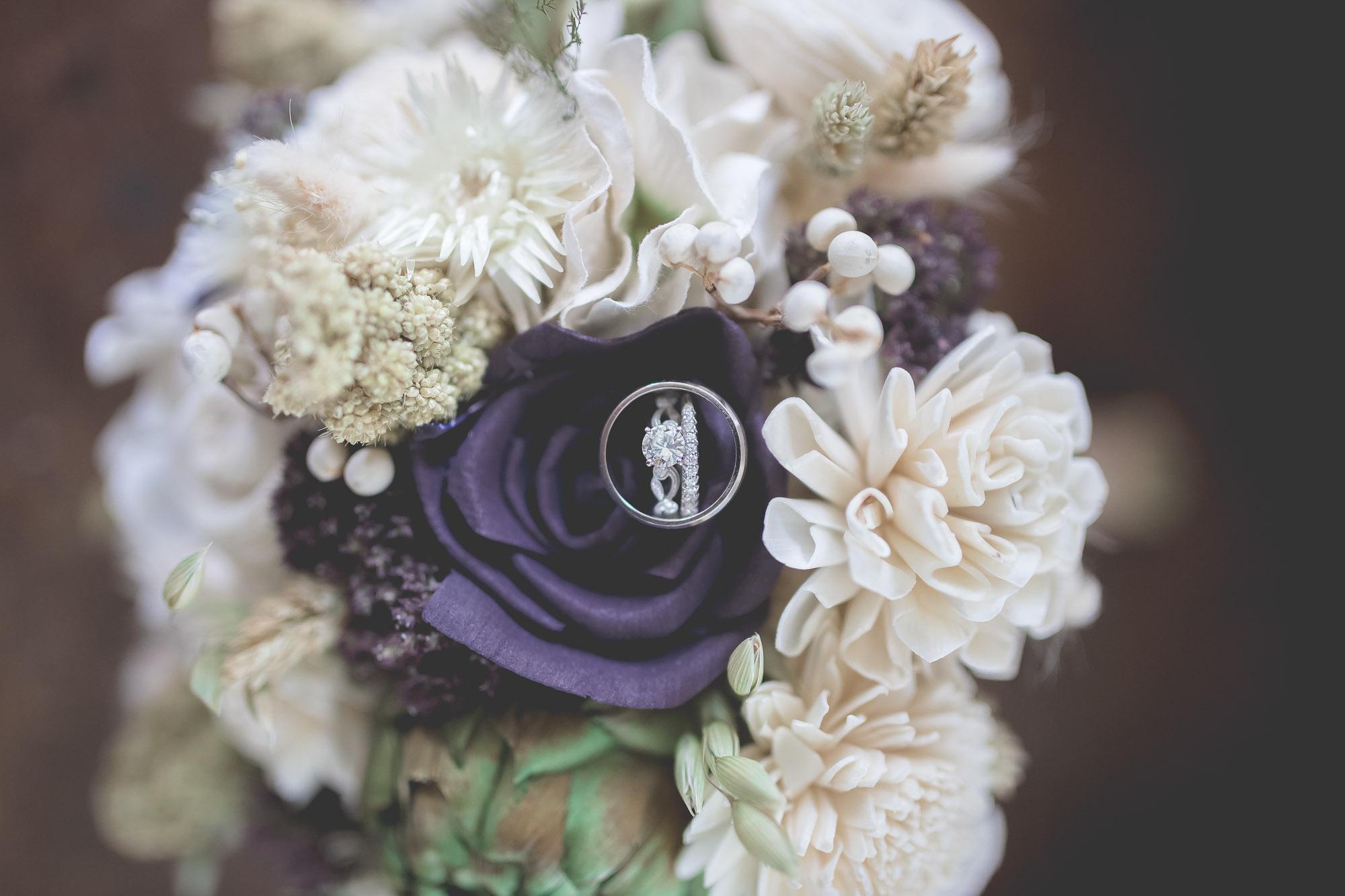 wedding bouquet detail photography in vero beach