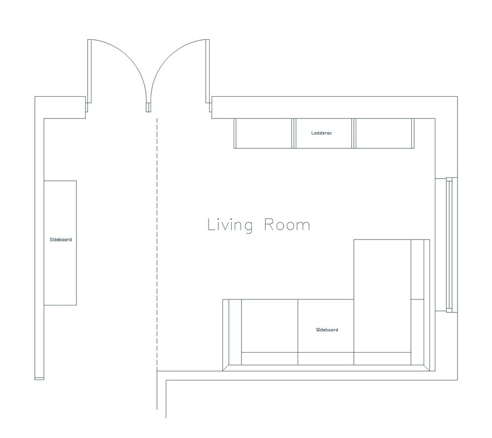 Previous Living Room Layout