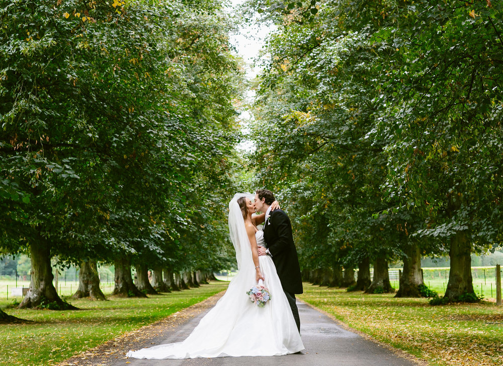 Wedding photos of Avington Park
