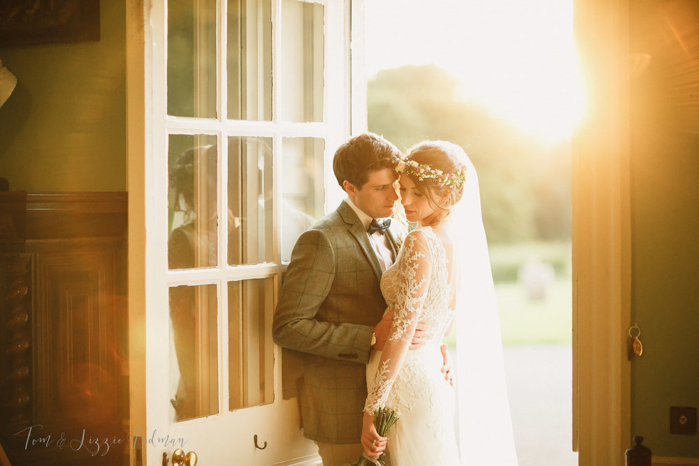Dorset wedding photographers Smedmore House