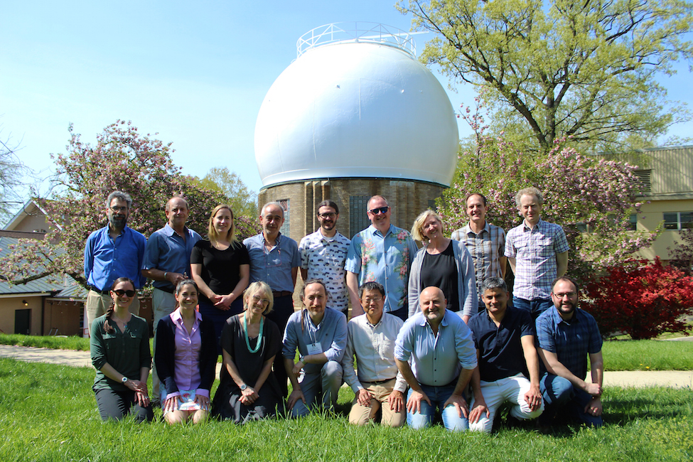 Reservoirs and Fluxes Community participants Back row (l to r): Marc Spiegelman, Patrick Allard, Cindy Werner, Giovanni Chiodini, Peter Kelly, Erik Hauri, Terry Plank, Tobias Fischer, Simon Carn. Front: Taryn Lopez, Liz Cottrell, Kerstin Lehnert, Carlo Cardelini, Hiroshi Shinohara, Alessandro Aiuppa, Santiago Arellano, Jonathan Tucker.   Photo credit: Roberto Molar Candanosa.
