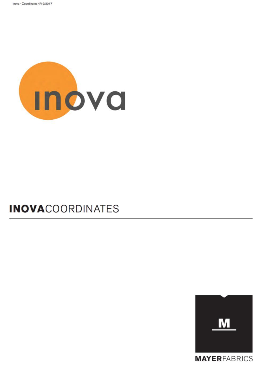 Inova Fabric Coordinates