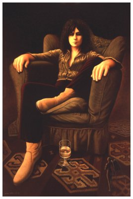 Marc Bolan Reclined
