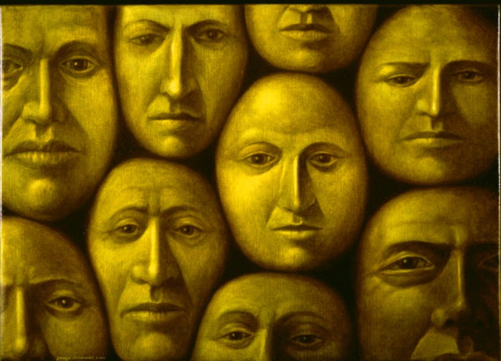 Faces In A Crowd