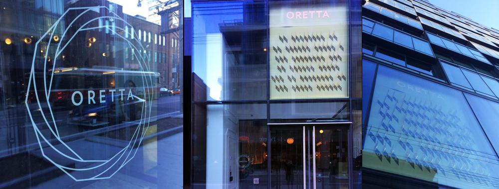 Oretta Restaurant King St W - Exterior Signage