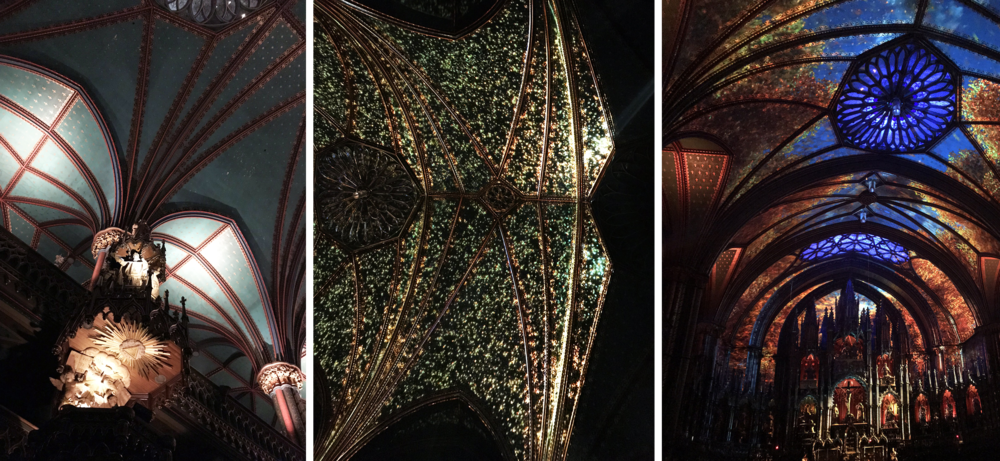 AURA show - Notre-Dame Basilica of Montréal