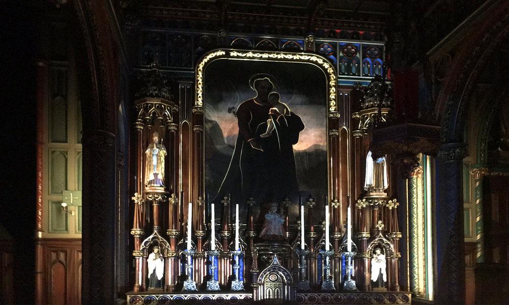 Notre-Dame Basilica Montreal - Aura Show - Icon