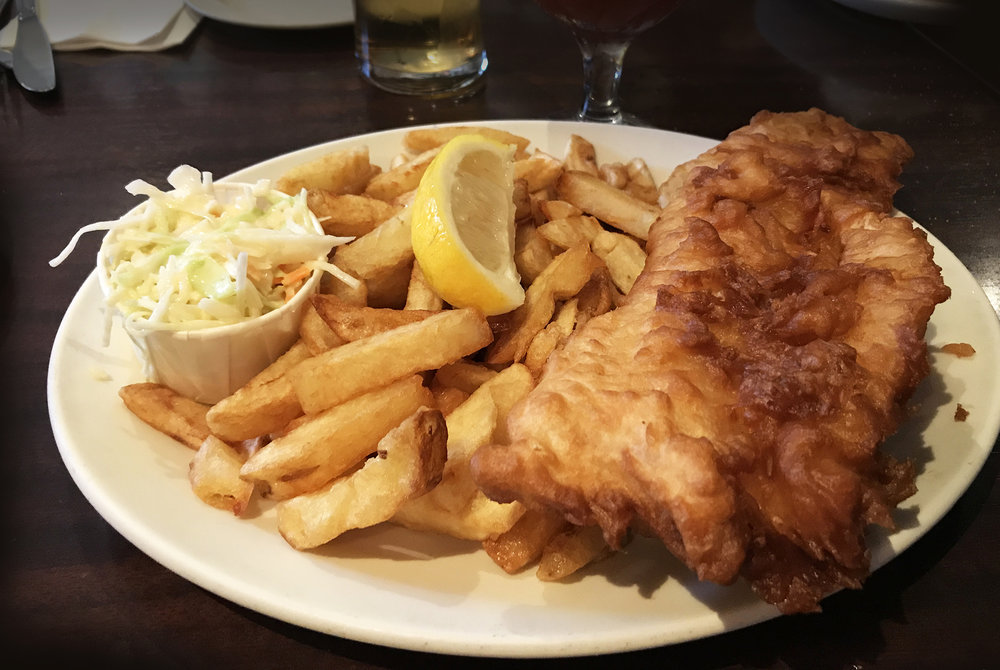 Olde Yorke Fish & Chips - Cod and Chips