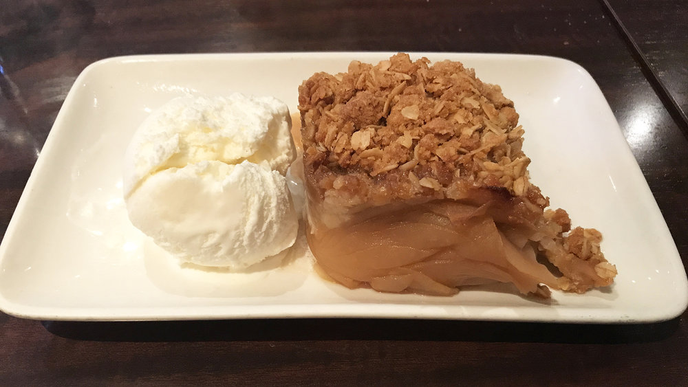 Olde Yorke Fish & Chips - Apple Crumble