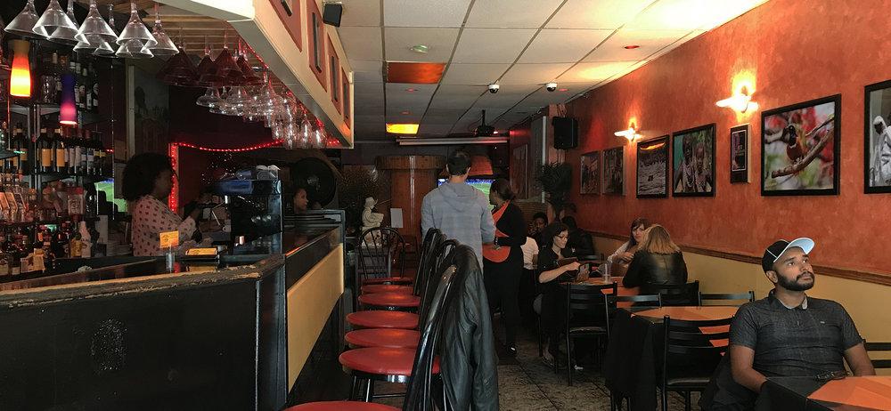Rendez-Vous Ethiopian Restaurant - Interior Decor and Vibe