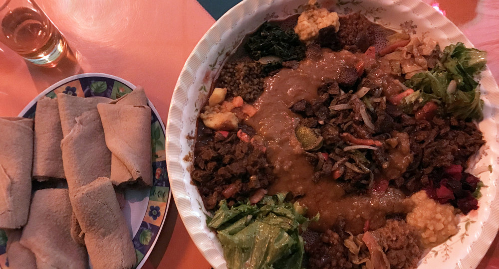 Rendez-Vous Ethiopian Restaurant - Sharing Plate