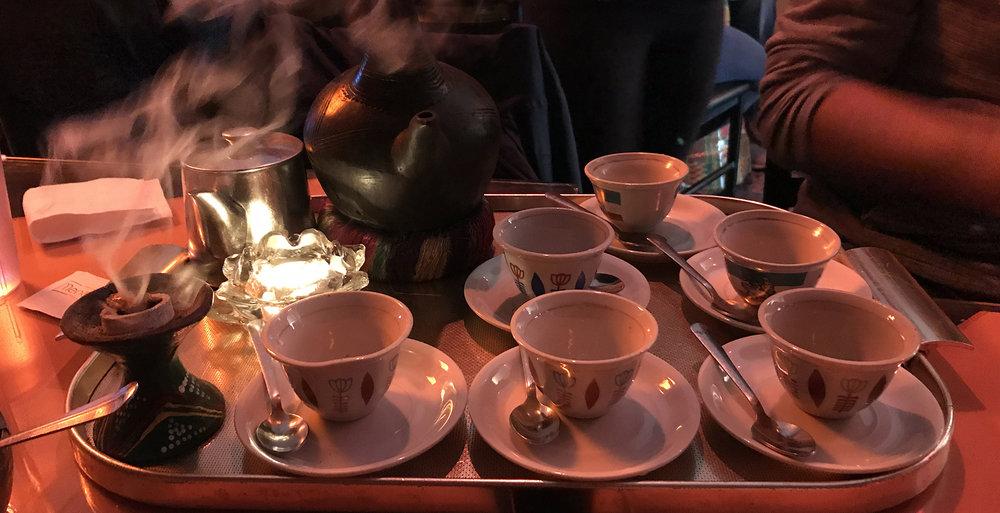 Rendez-Vous Ethiopian Restaurant - Coffee Ceremony