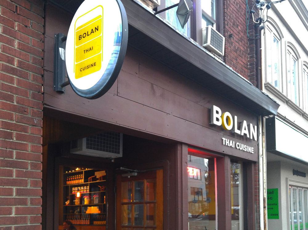Bolan Thai - Entry - Facade Sign