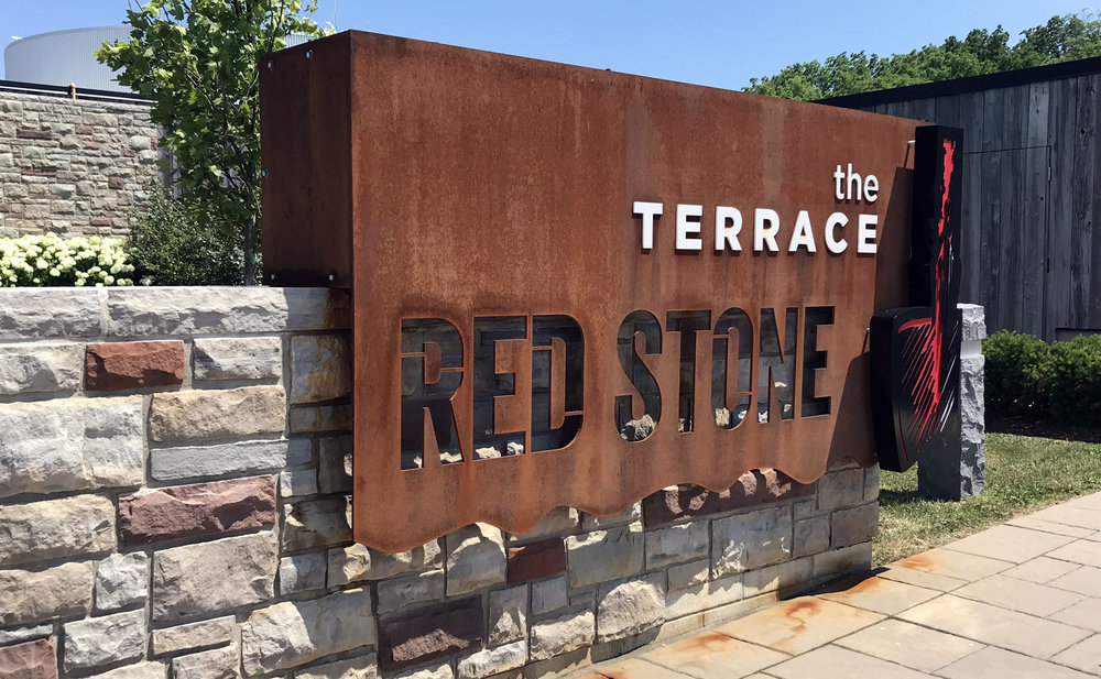 The Restaurant at RedStone - Patio Entry Sign
