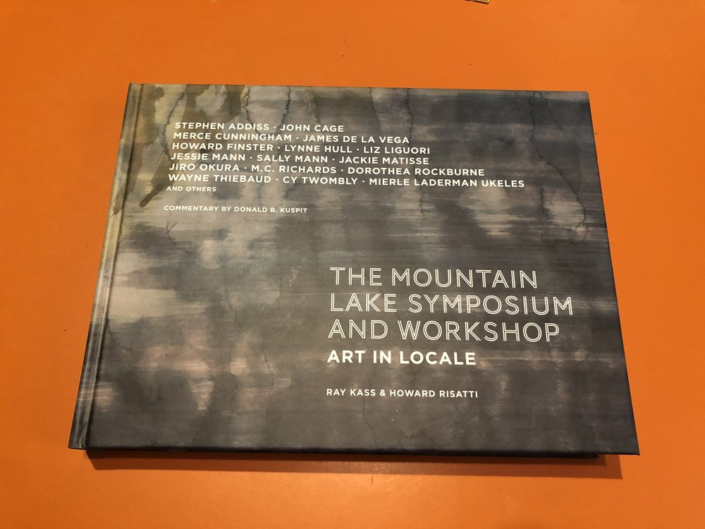I am proud to have contributed an essay, and to be a featured artist of The Mountain Lake Symposium and Workshop.
