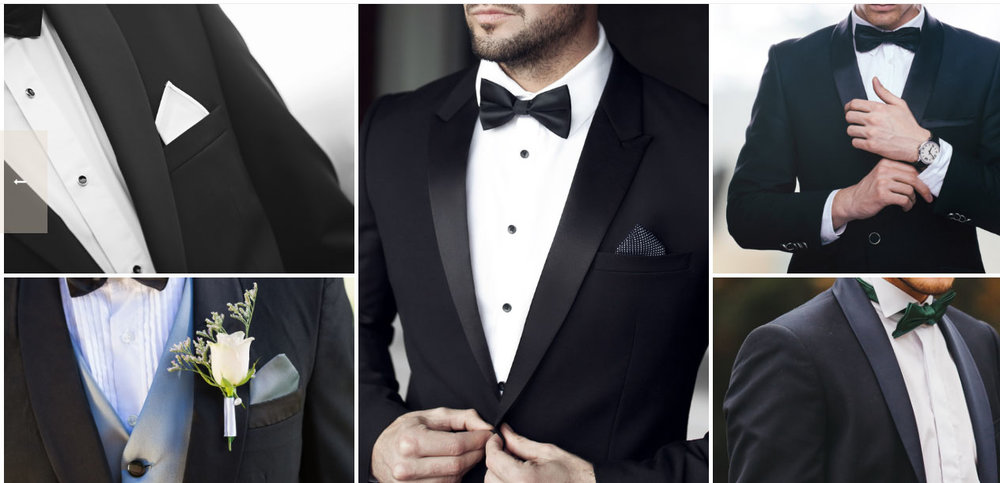 The Tuxedo Look
