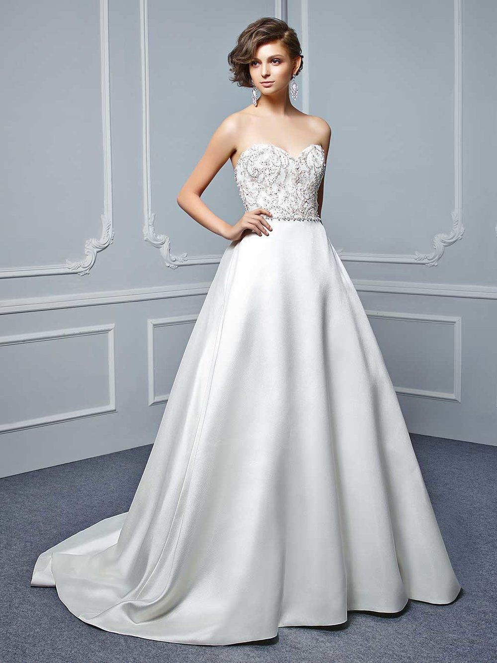 Robyn, by Enzoani. was  £950, reduced to £635 , August sale price £444.50