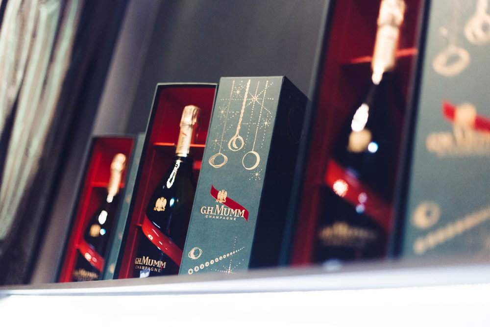 Mumm Champagne x Maria Nilsdotter