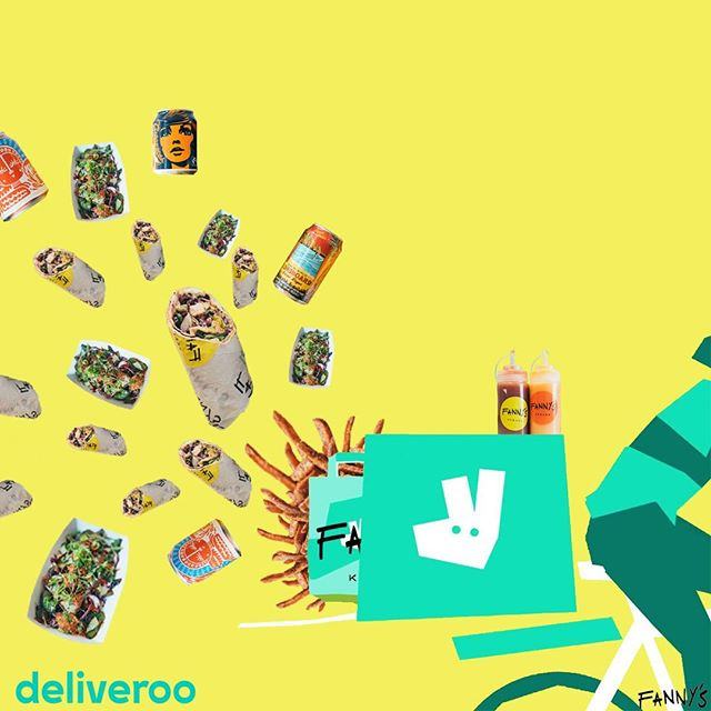Its official! We are now exclusive with Deliveroo from both our restaurants...Working at home today and need a pick me up?! Get onto Deliveroo now and get ordering from either Fulham or Stoke Newington, the future is yours! #fannyskebabs #delivery #deliveroo #exclusive #bablyf