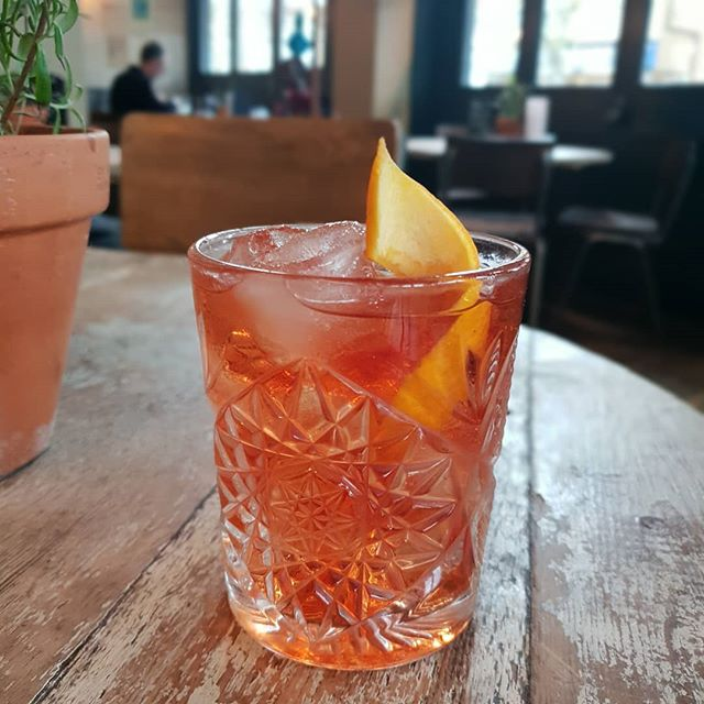 Spiced Negroni 👌 The Chairman's Reserve Spiced Rum - We can't get enough!