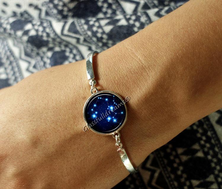 Sagittarius star constellation bracelet