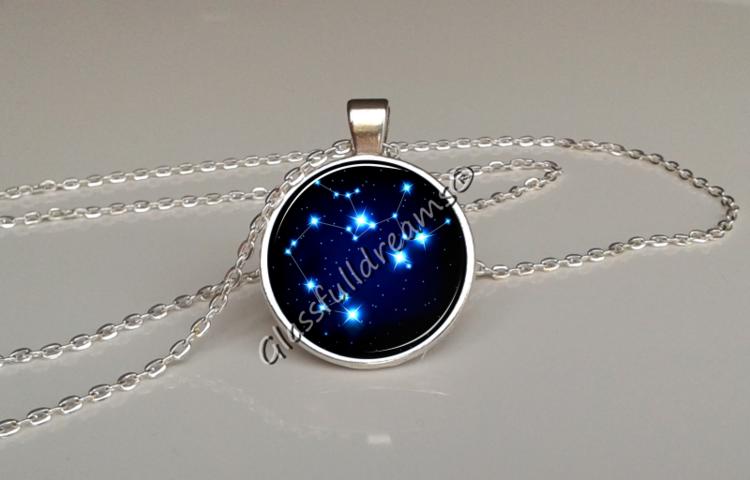 Sagittarius star constellation pendant